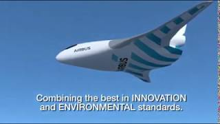 Airbus reveals blended wing aircraft demonstrator