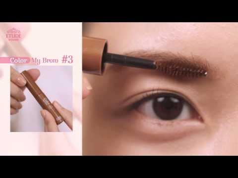 Natural brow makeup tip! Match the eyebrow color!