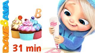 🍰 Pat a Cake | Nursery Rhymes Collection and Action Songs from Dave and Ava 🍰