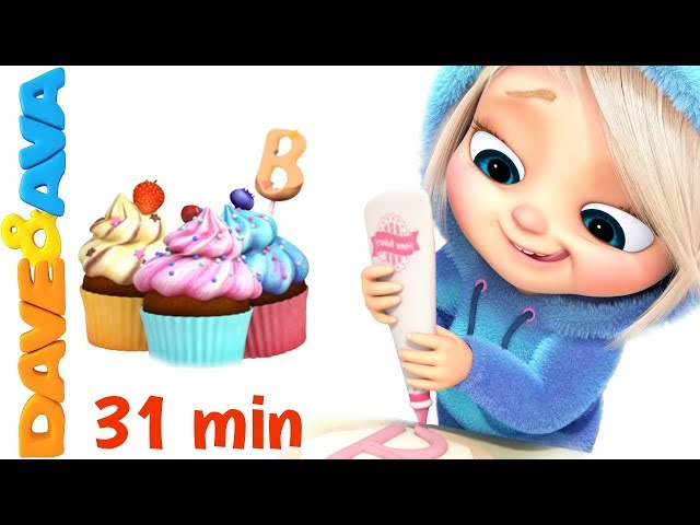 🍰 Pat a Cake   Nursery Rhymes Collection and Action Songs from Dave and Ava 🍰