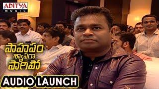 Download Hindi Video Songs - AR Rahman Entry At Saahasam Swaasaga Saagipo Audio Launch | AR Rahman | Naga Chaitanya