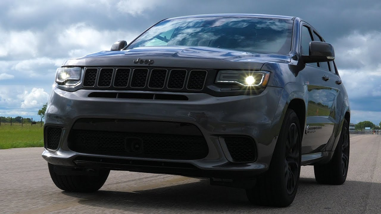 Hpe1000 Jeep Trackhawk In Action Youtube