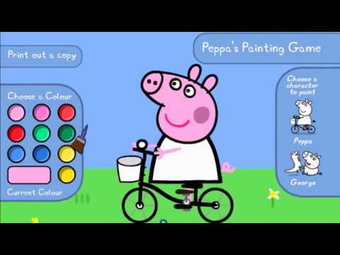 Cartoon For Kids - Peppa Pig - Play Wtih PEPPA PIG ABC - Learning Games And Songs For Kids