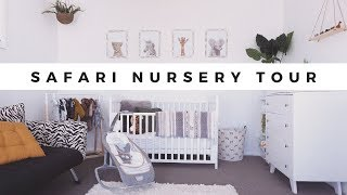SAFARI THEMED NURSERY TOUR (GENDER NEUTRAL)