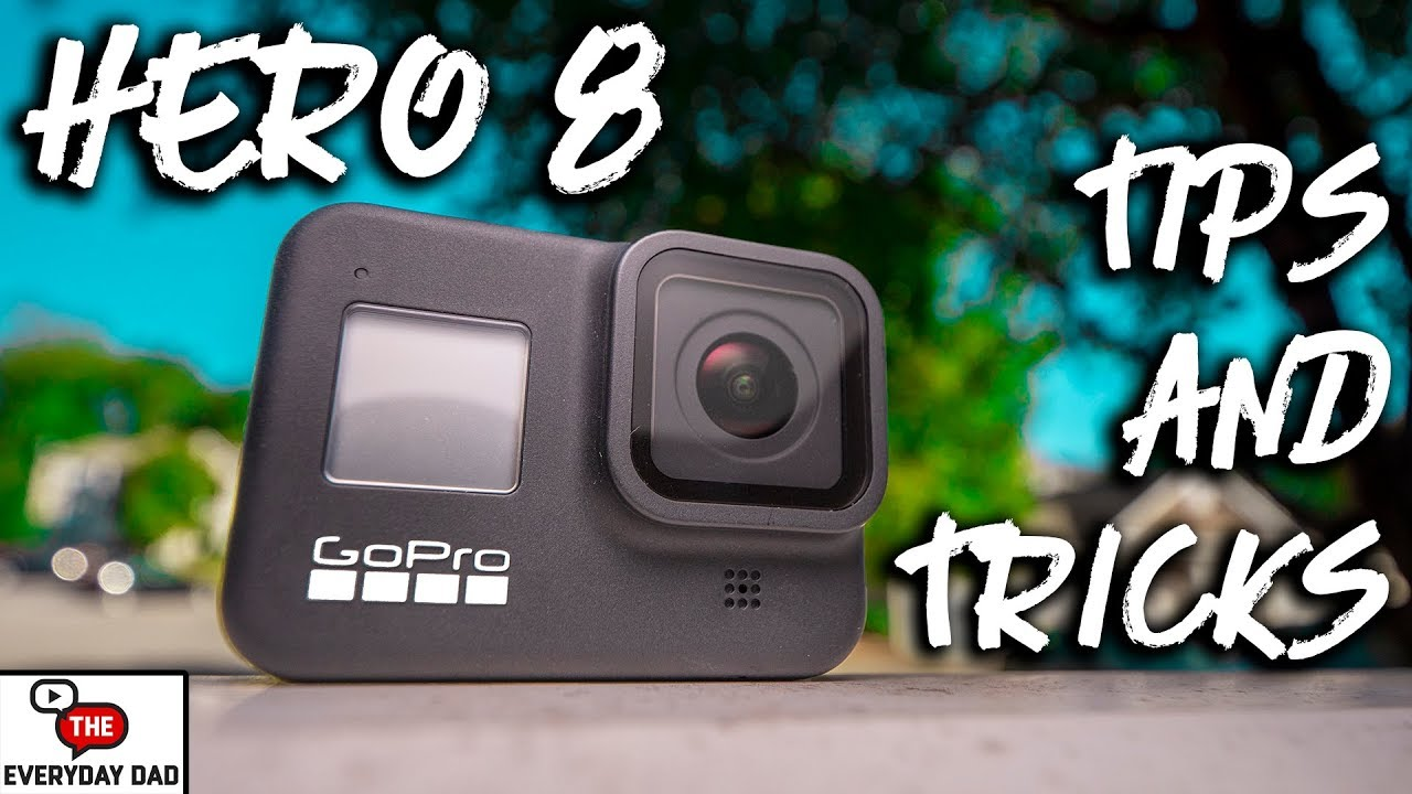 GoPro Hero 8 Black Best Tips and Tricks!