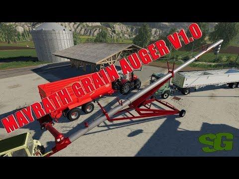 Ls19 Mod Vorstellung Farming Simulator :MAYRATH GRAIN AUGER V1 0