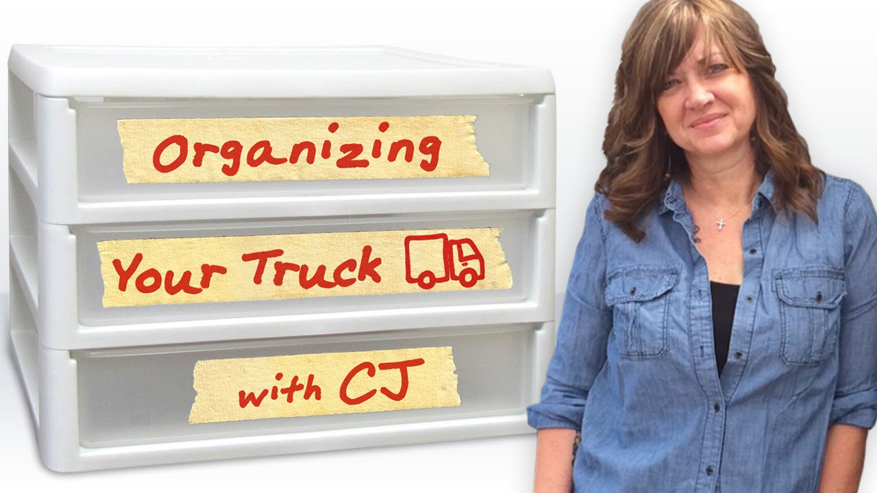 Truck Driver Tips How To Organize A Semi Truck Youtube