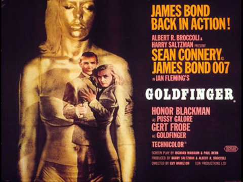 James Bond   Soundtrack ~ Goldfinger Theme