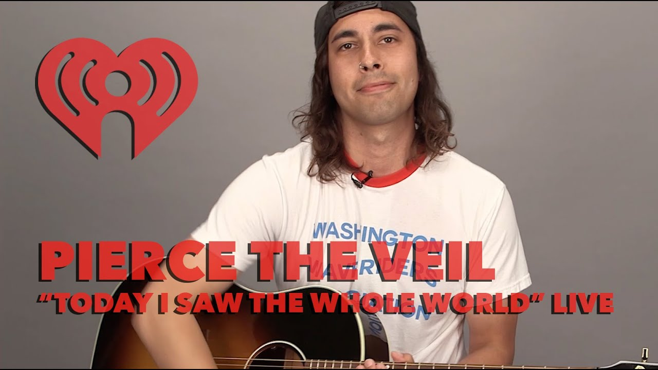 pierce-the-veil-today-i-saw-the-whole-world-acoustic-iheartradio-live-iheartradio