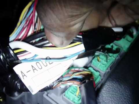 hqdefault how to install an alarm remotestart part 1 in a 2003 v4 honda 1999 Honda Accord Wiring Diagram at readyjetset.co