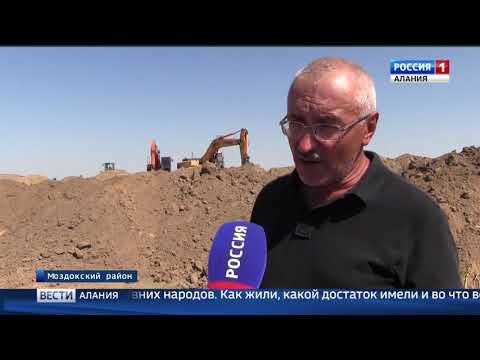 Археологи ведут раскопки на древних курганах Моздокского района