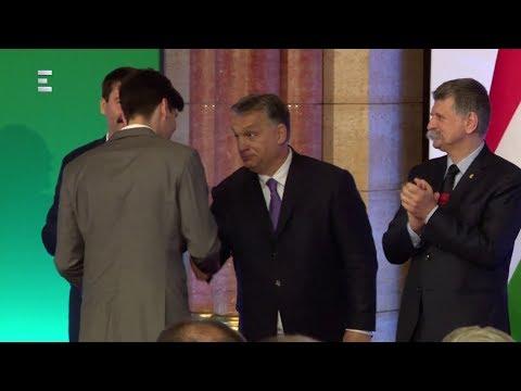 Orbán Viktor kitüntette a téli olimpia bajnokait - Hosszabbítás (2018-03-12) - ECHO TV