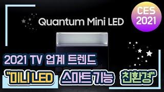 """올해 TV 업계 트렌드는?...""""미니 LED•…"""