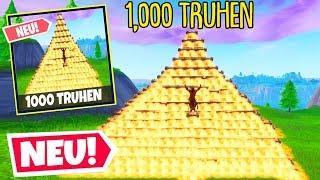 1000 TRUHEN, ABER nur 1 RICHTIGE!