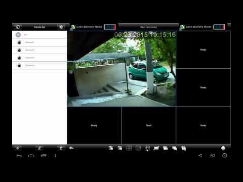 Просмотр видео с видеорегистратора через интернет на Android