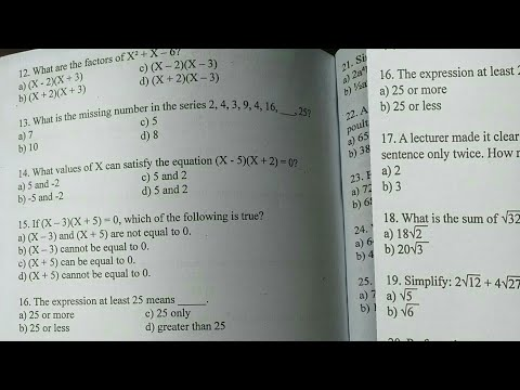 CSE Math Reviewer From Random Post [ALGEBRA MATH]