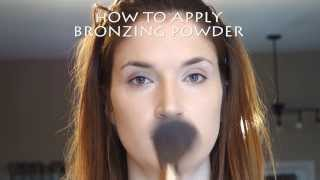How to apply bronzing powder Thumbnail