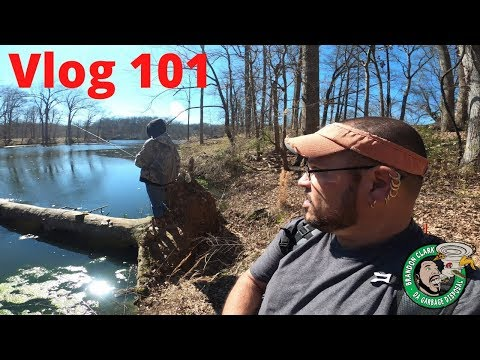 Vlog 101 Fishing 2 Different Spots In Memphis Tennessee