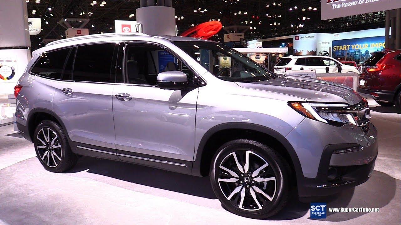 2019 Honda Pilot - Exterior and Interior Walkaround - 2019 New York Auto  Show