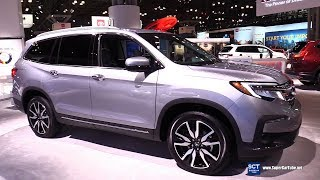 2019 Honda Pilot - Exterior and  Interior Walkaround - 2019 New York Auto Show