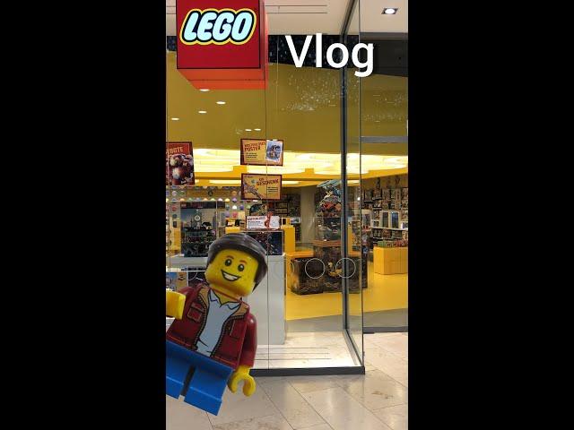 Lego Store Pasing Vlog