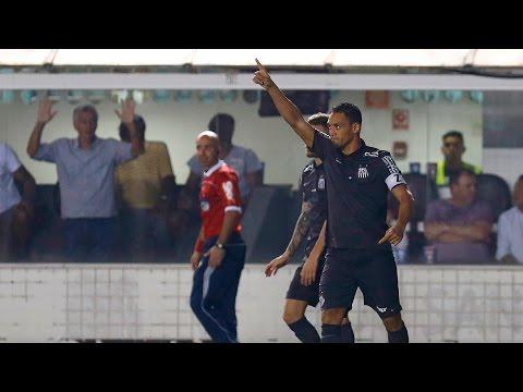 Santos 5 x 2 Avaí | GOLS | Brasileirão (22/08/15)