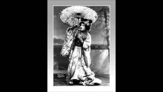 """Soprano GERALDINE FARRAR - Madama Butterfly - """"Ieri son salita...""""   (1909)"""