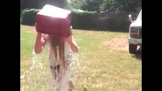 My daughters Ice Bucket Challenge
