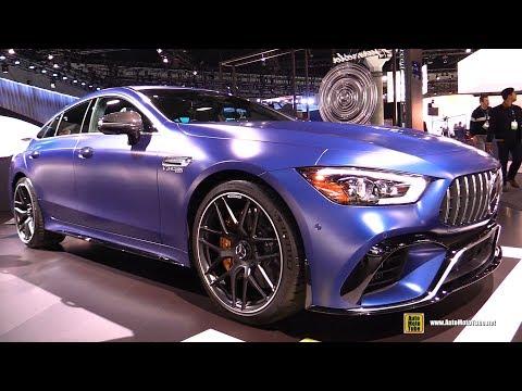 2019 Mercedes AMG GT 63 S 4-Door Coupe - Exterior and Interior Walkaround - 2018 LA Auto Show