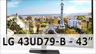 LG 43UD79-B: 43 Zoll UHD Monitor - Hands on (german)