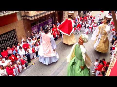 Despedida de los Cabezudos, Fiestas de Sangüesa 2015