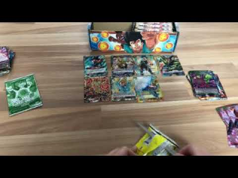 Dragonball Card game opening(2/2) |