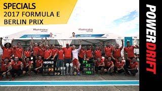 India's First Ever Formula E Win : 2017 Berlin ePrix : PowerDrift