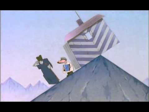 Мультфильм на вершине горы