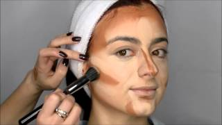 Contouring + maquillaje novia bohemia ♥