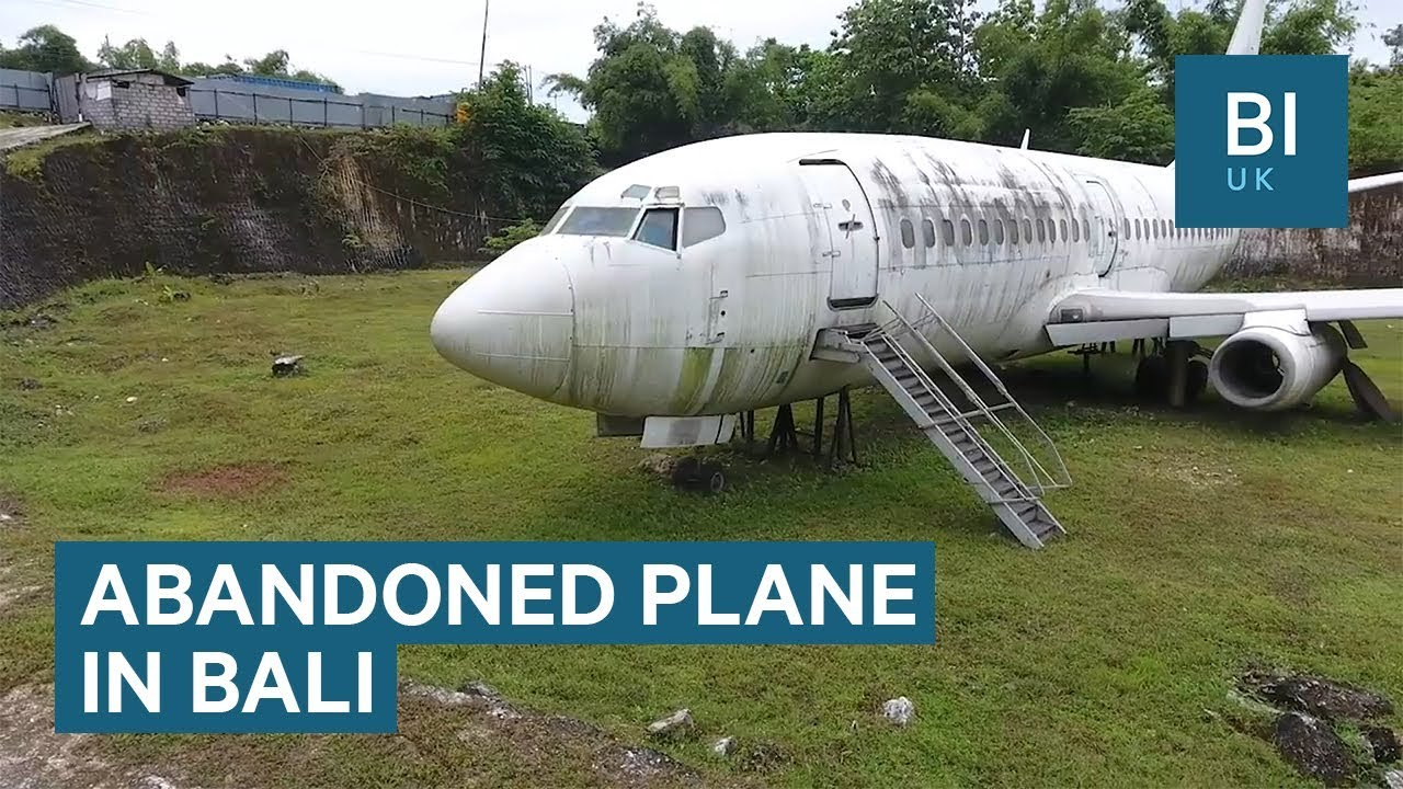 Bali's mysterious abandoned plane that's now a tourist attraction