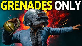 Grenade Only Challenge | PUBG Mobile