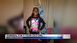 Funeral for 9-year-old girl