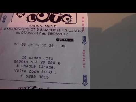 Mes Abonnements EUROMILLION, LOTO j'espère gagné le Jackpot ^^
