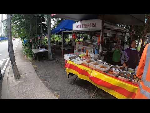 【4K】Walking from Subang