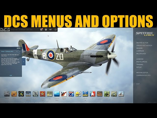 Explained: Getting Started With DCS WORLD Menus & Options