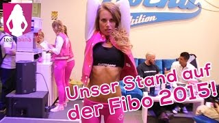 Rocka Nutrition - Unser Stand auf der Fibo 2015! Alina On Tour | www.size-zero.de