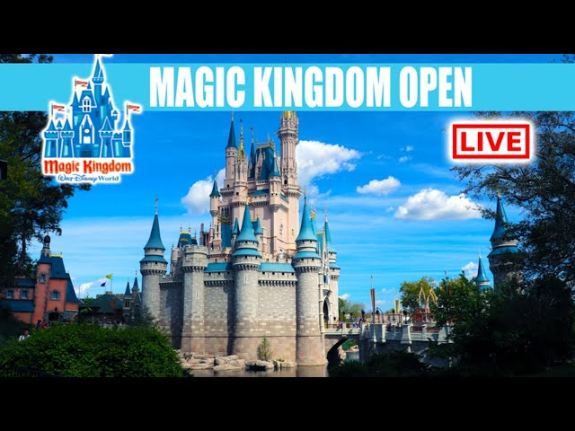 LIVE: Walt Disney World Will Close On March 15 - Magic Kingdom Live Stream