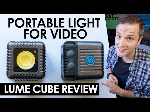 Best Portable Lighting for Video? Lume Cube Review