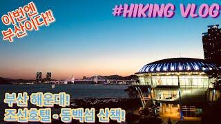 [산책vlog] 부산 해운대 조선 호텔 - 동백섬 산책…