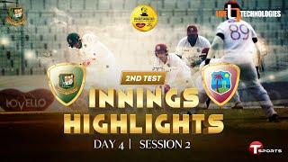 2nd Session Highlights   Bangladesh vs West Indies   2nd Test Day 4   West Indies Tour Of Bangladesh