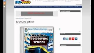 How to download free 3D Driving school
