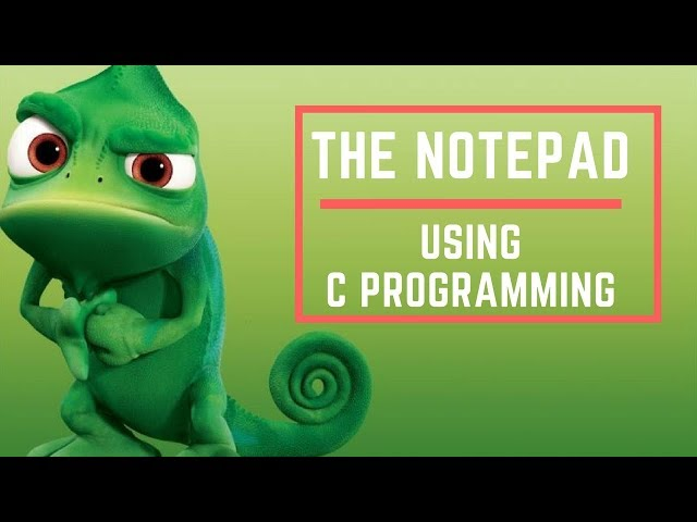 I Made The Notepad Using Graphics in c programming  (Project-4)