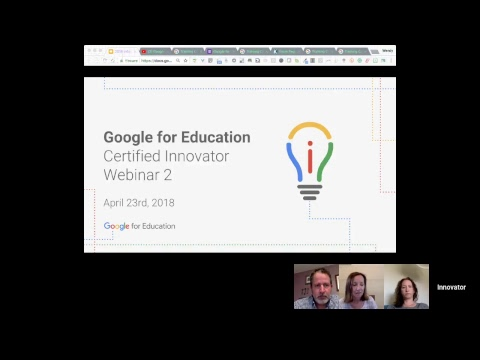 Google for Education Certified Innovators Webinar #2: Level 2 Virtual Training