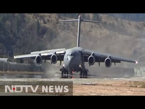 Amid Stand-off With China, IAF's C-17 Jet Lands 30 km From Border